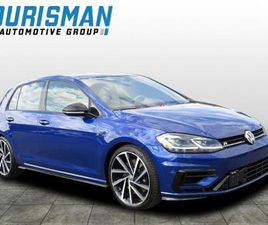 BLACK COLOR 2018 VOLKSWAGEN GOLF R FOR SALE IN BOWIE, MD 20716. VIN IS WVWVF7AU0JW185003.