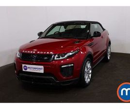 2017 LAND ROVER RANGE ROVER EVOQUE 2.0TD4 HSE DYNAMIC LUX (S/S) CONVERTIBLE 2D AUTO - £33,
