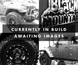 JEEP WRANGLER BRUTE 3.6 SUPERCHARGED 400 BLACK MOUNTAIN RUBICON DOUBLE CAB PICK