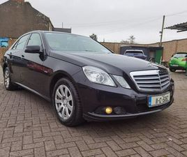 11 MERCEDES E 200 CDI BE AUTO FOR SALE IN LIMERICK FOR €8,500 ON DONEDEAL