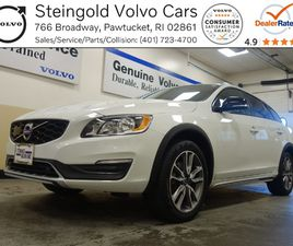 WHITE COLOR 2018 VOLVO V60 CROSS COUNTRY T5 FOR SALE IN PAWTUCKET, RI 02861. VIN IS YV440M