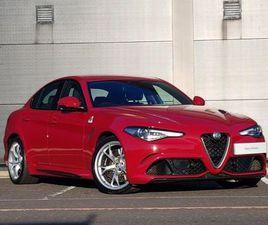 ALFA ROMEO GIULIA 2.9 V6 BITURBO QUADRIFOGLIO 4DR AUTO