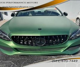 GREEN COLOR 2016 MERCEDES-BENZ C-CLASS C 300 LUXURY FOR SALE IN HOLLYWOOD, FL 33020. VIN I