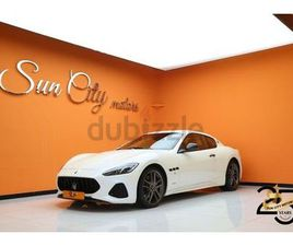 AED 6,578/MONTH ((WARRANTY AND SERVICE CONTRACT AVAILABLE))2020 MASERATI GRANTURISMO SPORT