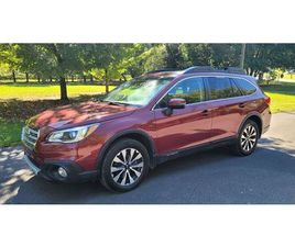RED COLOR 2016 SUBARU OUTBACK 2.5I LIMITED FOR SALE IN ELIZABETHTON, TN 37643. VIN IS 4S4B