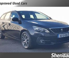 PEUGEOT 308 SW ACTIVE AUTO 1.5 BLUE HD FOR SALE IN WATERFORD FOR €17,950 ON DONEDEAL