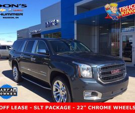 BLUE COLOR 2019 GMC YUKON XL SLT STANDARD FOR SALE IN WAUSEON, OH 43567. VIN IS 1GKS2JKC1K