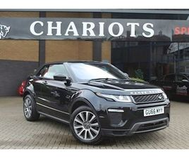 2016 LAND ROVER RANGE ROVER EVOQUE 2.0 SI4 HSE DYNAMIC LUX (S/S) CONVERTIBLE 2D