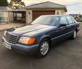 1994 MERCEDES S350 TURBO DIESEL W140 LHD 68000 MILES 1 OWNER FMBSH IMMACULATE