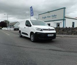 2019 CITROEN BERLINGO LX BLUEHDI 75 650KG 3 SEATER FOR SALE IN MAYO FOR €14,950 ON DONEDEA