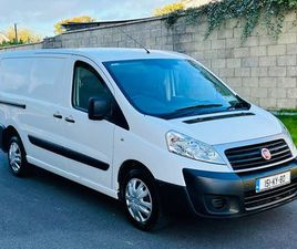 151 FIAT SCUDO 2.0 HDI 130 BHP - TAXED & TESTED FOR SALE IN WEXFORD FOR €7,950 ON DONEDEAL