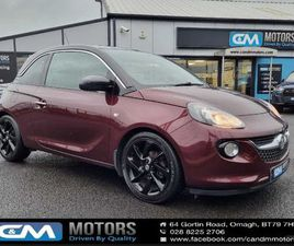 VAUXHALL ADAM 1.4I JAM 3DR (LOW NOX, NI CAR) FOR SALE IN TYRONE FOR £5,495 ON DONEDEAL