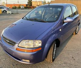 2008 AVEO5 58 088 KM AUTO A/C TOIT OUVRANT GAR 1 AN FINANCEMENT   CARS & TRUCKS   CITY OF