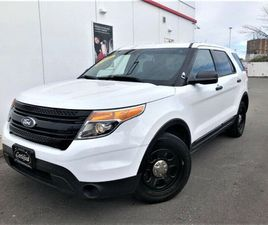 2014 FORD EXPLORER POLICE INTERCEPTOR AWD-CERTIFIED-WARRANTY   CARS & TRUCKS   CITY OF TOR