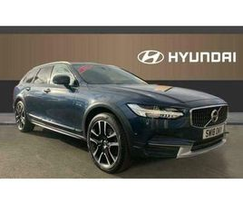 2018 VOLVO V90 2.0 D4 CROSS COUNTRY PRO 5DR AWD GEARTRONIC DIESEL ESTATE AUTO ES
