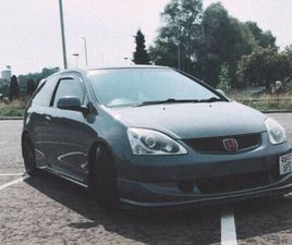 HONDA CIVIC TYPE R EP3 COSMIC GREY WITH NOS SYSTEM 2005 MK7