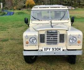 LAND ROVER SERIES 3 88 COUNTY STATION WAGON