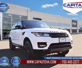 USED 2016 LAND ROVER RANGE ROVER SPORT SUPERCHARGED