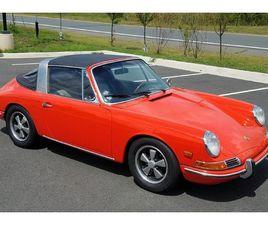 1968 PORSCHE 911 SOFT-WINDOW TARGA