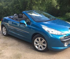 PEUGEOT 207 COUPE CONVERTIBLE ONLY 52000 MILES