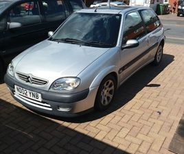 CITROEN, SAXO, VTR,HATCHBACK, 2002, MANUAL, 1587 (CC), 3 DOORS