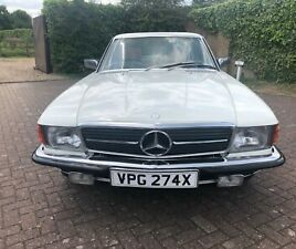 MERCEDES-BENZ C107 280SLC CONCOURS WINNING CLASSIC CAR 1 OF 18 LEFT ON THE ROAD