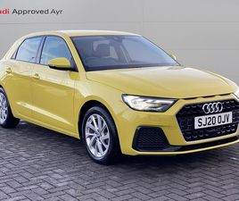 AUDI A1 SPORTBACK SPORT 30 TFSI 116 PS 6-SPEED 1.0 5DR