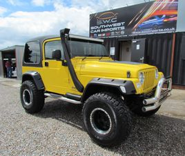 2004 JEEP WRANGLER 4.0 SPORT AUTO - JUST ARRIVED - MONSTER TRUCK - LIFT KIT- 35X12.5 TYR