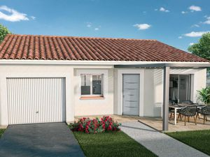 VILLA 3 chambres avec garage intégé à constru...