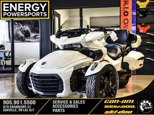 CAN-AM SPYDER F3 LIMITED DARK 2019 NEW MOTORCYCLE FOR SALE IN OAKVILLE