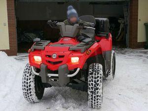 ATV QUAD BOMBARDIER CAN-AM OUTLANDER MAX 400 +SCHNEESCHILD 5600KM