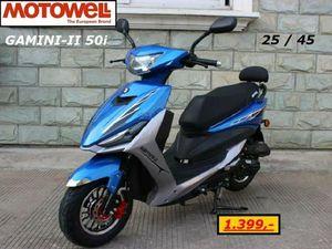 MOTOWELL GAMINI II 50I / MOFA-25 / EURO-5 / NUR 85 KG