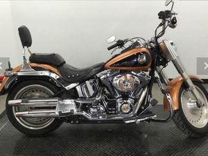HARLEY-DAVIDSON FLSTF FAT BOY ANNIVERSARY 2008 USED MOTORCYCLE FOR SALE IN TORONTO