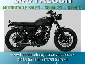 MUTT FSR, 125CC MOTORBIKE, MATT BLACK, SUEDE SEAT, APPROVED DEALER | IN BURTON-ON-TRENT, S