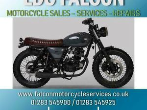 MUTT HILTS GREY 125CC RETRO, CUSTOM PAINT JOB, APPROVED DEALER | IN BURTON-ON-TRENT, STAFF