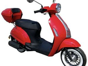 MOTOWELL ROLLER ELENOR 50 LTD IN ROT 45KM/H