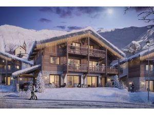 Bel appartement T6 en duplex de 136m2 à vendre à Albiez au sein du chalet CALA. L'appartem