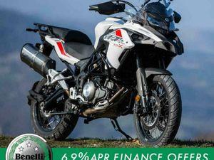 BENELLI TRK 502 X 500CC ADVENTURE ENDURO OFF ROAD TOURING SUPERMOTO MOTORCYC... | IN WHITE