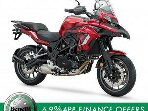 BENELLI TRK502 500CC ADVENTURE TOURING ENDURO SUPERMOTO 500CC MOTORCYCLE BIKE | IN WHITEHA