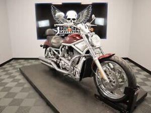 DREAM MACHINES OF AUSTIN 2003 HARLEY-DAVIDSON VRSCA - V-ROD 13125 MILES RED