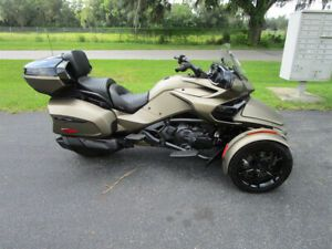 2020 CAN-AM SPYDER F3 LIMITED, CLEAN, LOW MILES, SWEET COLOR