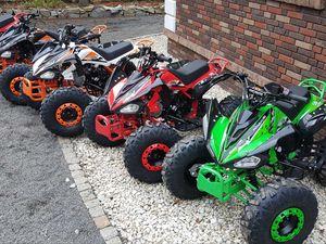 QUAD 125CC ATV RATY KXD RAPTOR 110 14KM NOWY DUŻY KLAD XXL XTR APOLLO