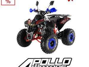 QUAD 125; 110 50 DLA DZIECKA ATV APOLLO AVENGER COMMANDER 125 RATY