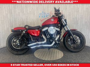 HARLEY-DAVIDSON SPORTSTER XL 1200 X FORTY EIGHT ABS MODEL GENUINE LOW MILEAGE 2016 16 1202