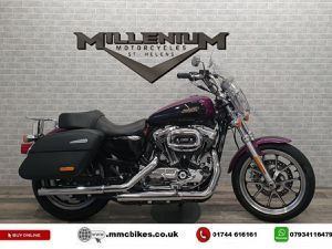 HARLEY-DAVIDSON SPORTSTER XL1200 T SUPERLOW LOW RATE FINANCE UK DELIVERY 1202CC