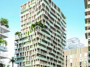 Appartement t3 neuf programme JOIA – Résidences Reva à Nice (06000) - 92029