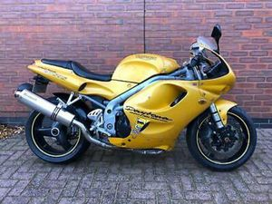 1997 - TRIUMPH T595 DAYTONA - YELLOW - TIDY BIKE RUNS AND RIDES SPOT ON
