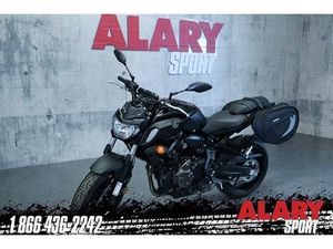 YAMAHA MT-07 2019 NEW MOTORCYCLE FOR SALE IN SAINT-JÉRÔME