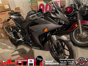 YAMAHA YZF-R3 2016 USED MOTORCYCLE FOR SALE IN TILBURY