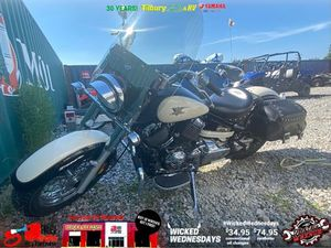 YAMAHA V-STAR 650 CLASSIC 2008 USED MOTORCYCLE FOR SALE IN TILBURY
